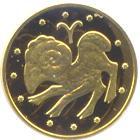 Золота монета Овен 2 грн. 2006 року