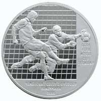 Срібна монета Чемпіонат світу з футболу. 2006 10 грн. 2004 року