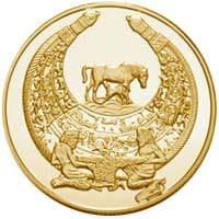 Золота монета Пектораль 100 грн. 2003 року