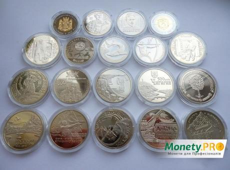 Річна підбірка 2012 року, всі монети
