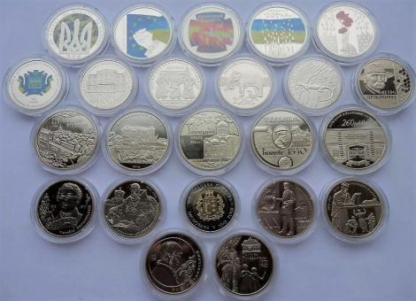 Годовая подборка 2015 года, все 23 монеты