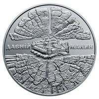 Монета Давній Малин 5 грн. 2016 року