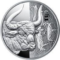 Срібна монета Тур 5 грн. 2017 року
