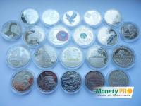 Річна підбірка 2019 року, Всі монети - 21 шт.